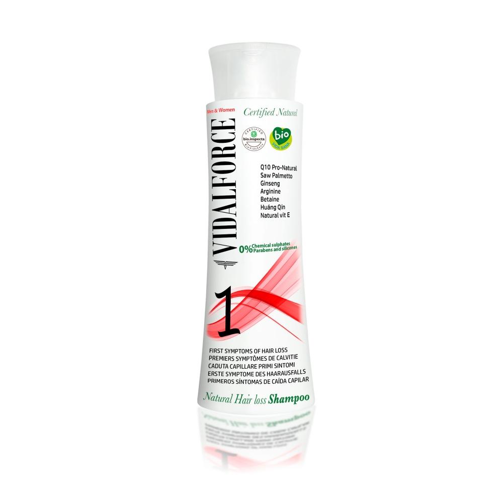 Shampoo bio 1 Natural, first Symptoms of hair loss